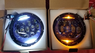 Apollo series 130 Watt LED headlight