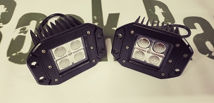 16 watt CREE Flush mount LED pod