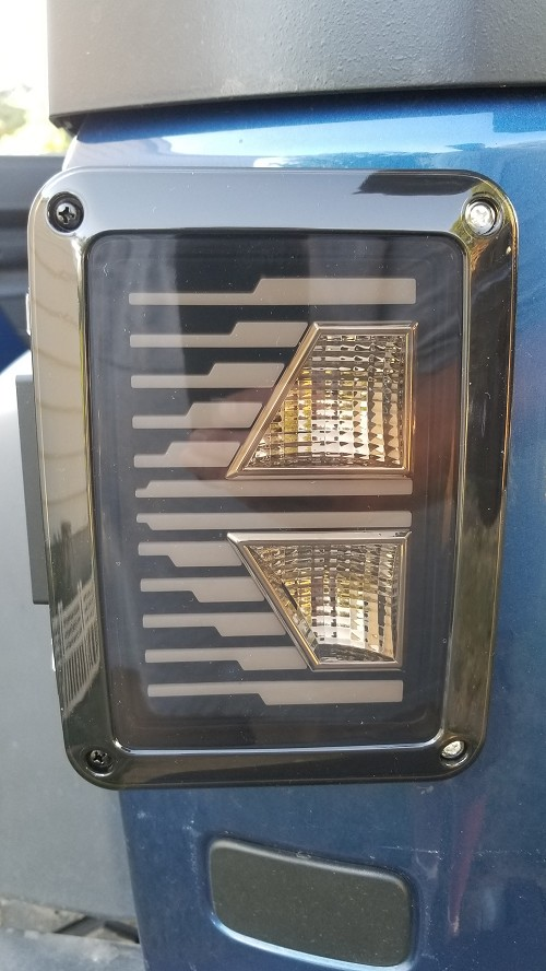 'K' Series LED Taillight