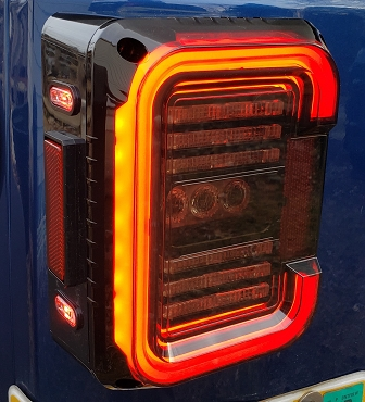 Crystal Series LED Tail light