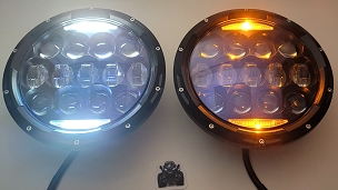 Apollo series 130 Watt LED headlight(pair)