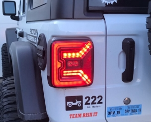 Emerald series JL LED Taillights(pair)